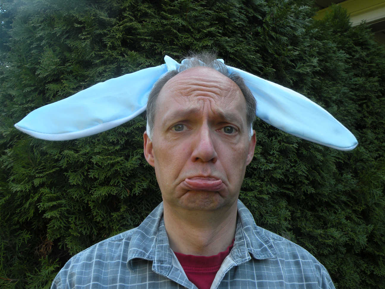 sad bunny brand persona image